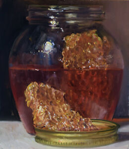 """""""Honey Jar with Comb"""" by Duane Keiser"""