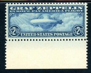 USAstamps-Unused-Superb-US-Airmail-Graf-Zeppelin-Scott-C15-OG-MNH-Cat-4000