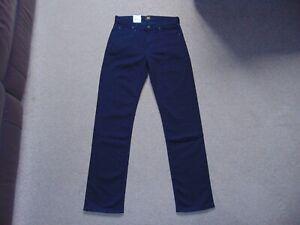Details about Men's Lee Morton Straight Leg Stretch Durabilt Denim Jeans Size 30 x 32 in Black