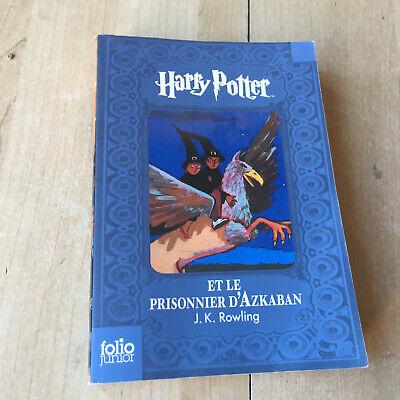 Livre Harry Potter Et Le Prisonnier D Azkaban Folio Junior