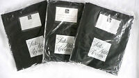 Saks Fifth Avenue Black Garment Bags Lot Of 3 Different Sizes W/front Zip Up