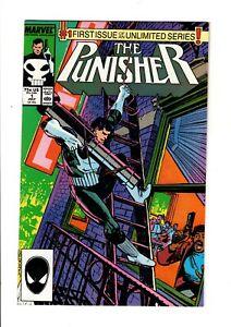 Punisher-1-HIGH-GRADE-Klaus-Janson-first-issue-Marvel-Comics-1987