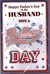 Fathers Day Card For Husband Happy Fathers Day To My Husband 3d