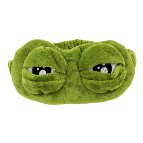 The Frog Sad Frog 3D Eye Mask Cover Sleeping Rest Sleep Anime Funny Gift Q