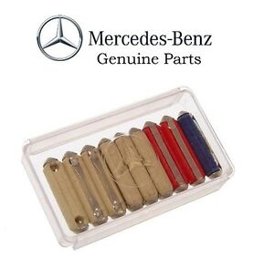 NEW Mercedes W108 W116 W124 W126 R129 W201 GENUINE Fuse Kit - 124 ...
