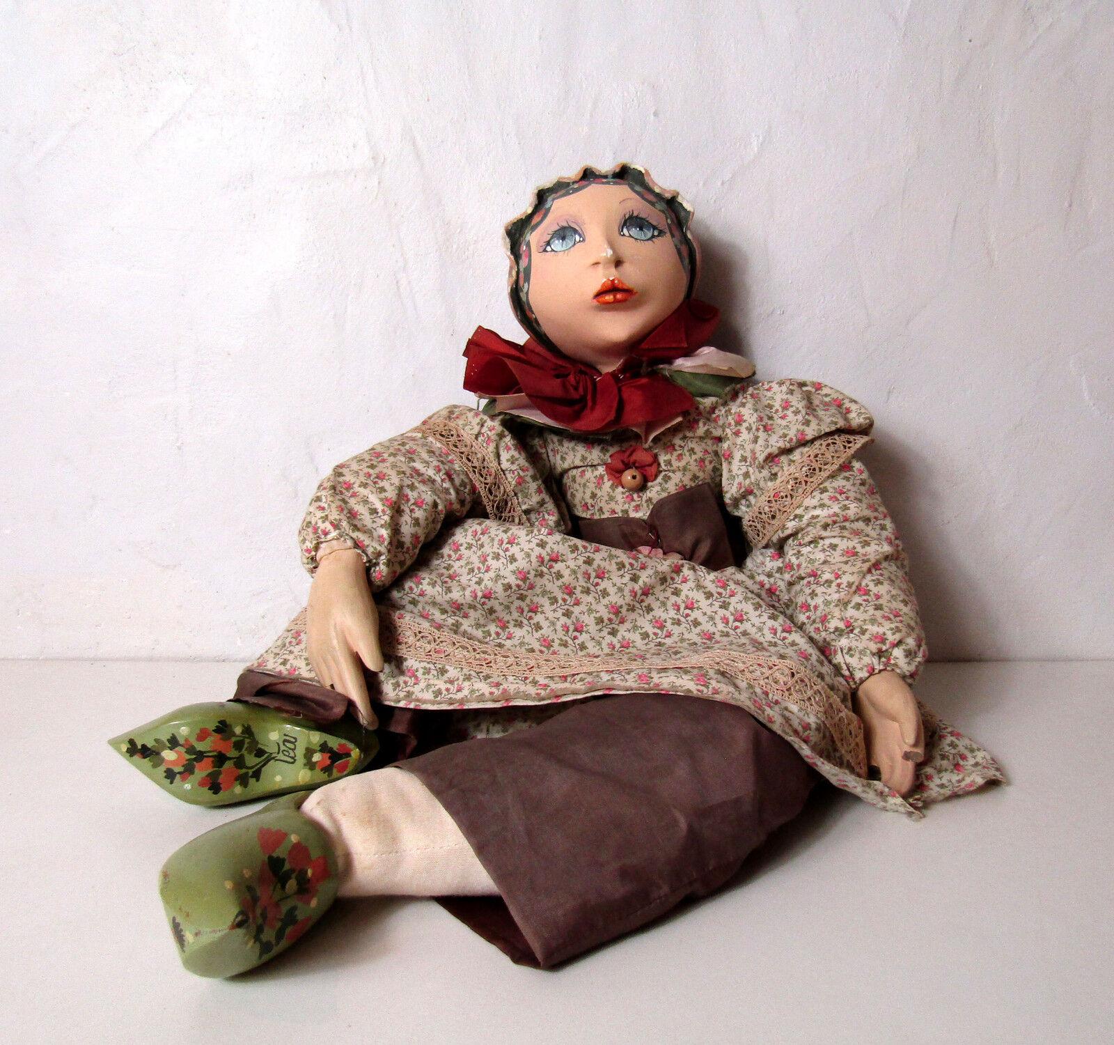 Ancienne poupée Léa poupée de salon Vintage 70cm