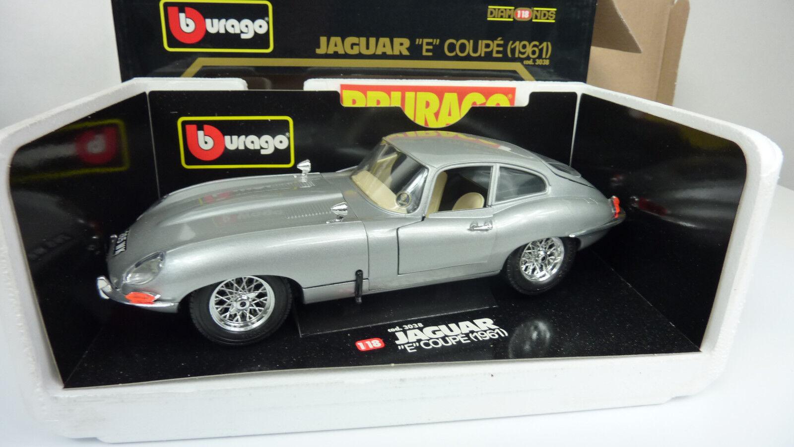 ventas en linea Burago 1 18 3038 jaguar    e  Coupe 1961 véase imágenes (a13)  nueva gama alta exclusiva