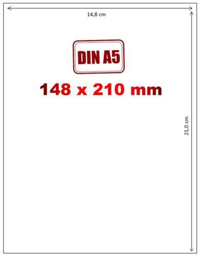 100xA5 Paketschein Versandetiketten Label selbstklebend Etiketten DHL DPD Hermes