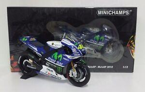 MINICHAMPS-VALENTINO-ROSSI-1-12-MODELLINO-YAMAHA-YZR-M1-MOVISTAR-MOTOGP-2014-NEW
