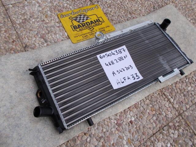 Alfa 33 - RADIATORE originale 60504387