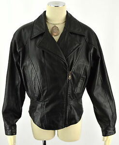 e9880b787 Details about WILSONS LEATHER Women's Motorcycle Punk Thinsulate Side  Zipper Jacket ~ Sz M