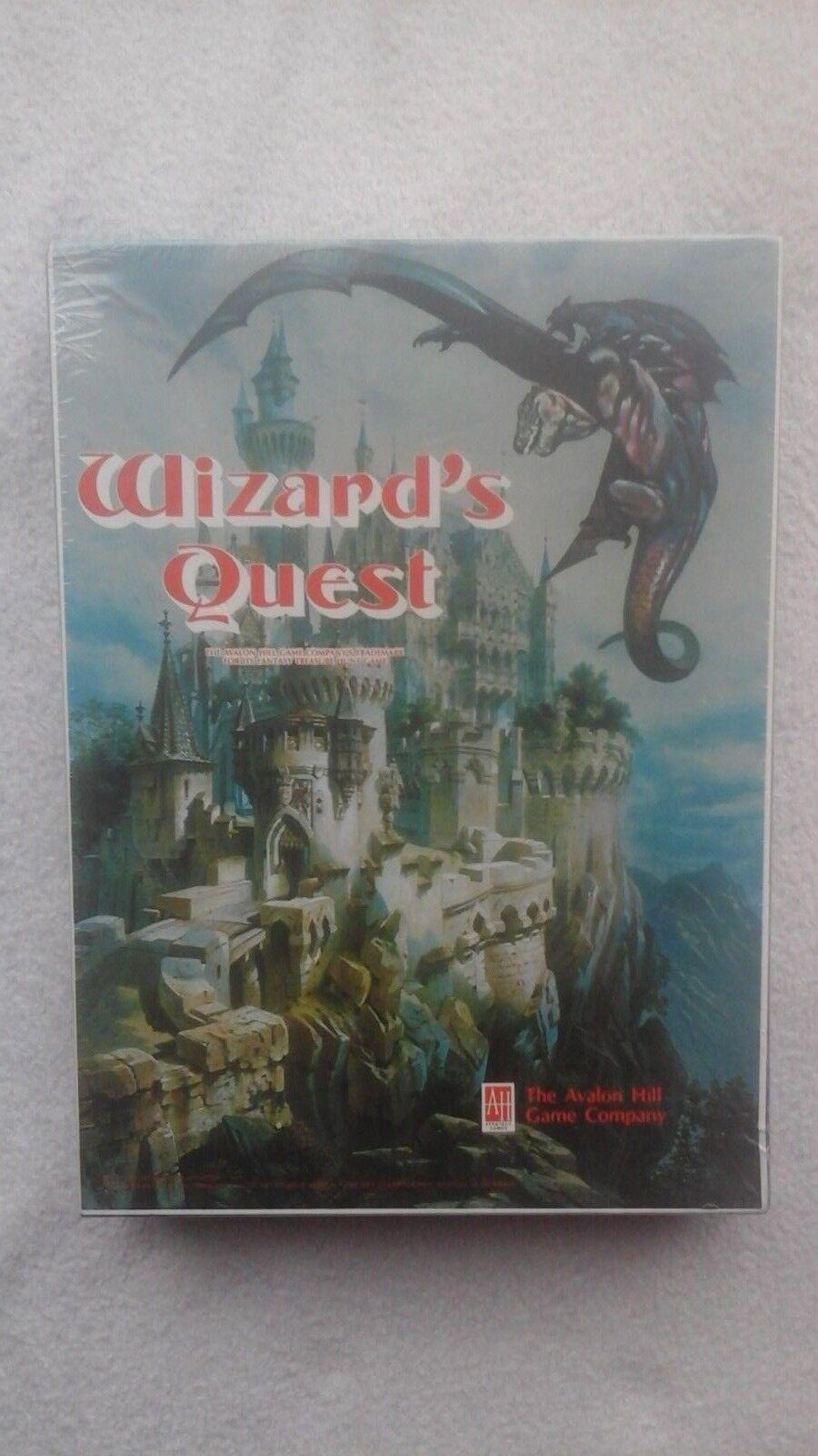 Wizard'S quest da Avalon Hill 1979 RARA SIGILLATA Nuovo di Zecca Gioco da tavolo vintage
