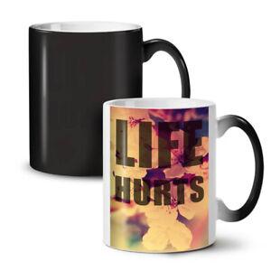 Life Hurts NEW Colour Changing Tea Coffee Mug 11 oz   Wellcoda