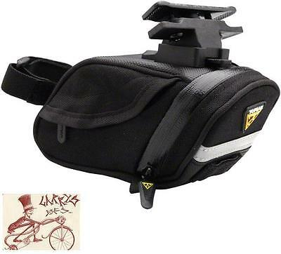 TOPEAK PROPACK SMALL BLACK BICYCLE SEAT SADDLE BAG WITH MOUNT