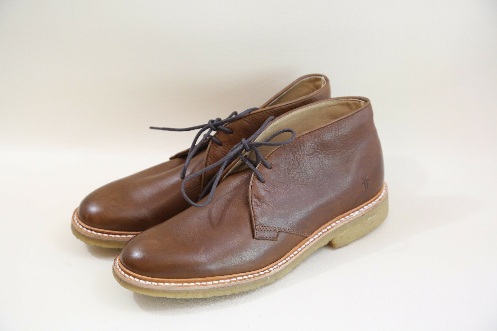 #21 FRYE Brown Chukka Stivali in Size 8  made in Stivali mexico 9b3307