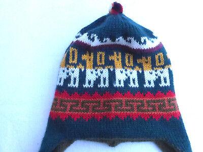 100% Vero ♥ Nuovo ♥ Perù -- Calde -- Svolta-berretto-cappa-berretto 92 98 104 110-mostra Il Titolo Originale