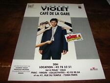 LAURENT VIOLET - PUBLICITE CAFE DE LA GARE !!!!!!!!!!!!