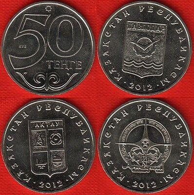 KAZAKHSTAN 50 Tenge PAVLODAR  *Towns of Kazakhstan* 2012*UNC
