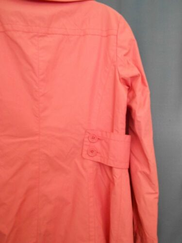 Lommer Jacket Double Rain Unltd S Breasted Small City Trench Pink Button Coat vdWzqqY