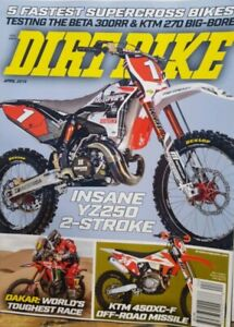Details about Dirt Bike April 2019 Insane YZ250 2 Stroke 5 Fastest  Supercross FREE SHIPPING CB