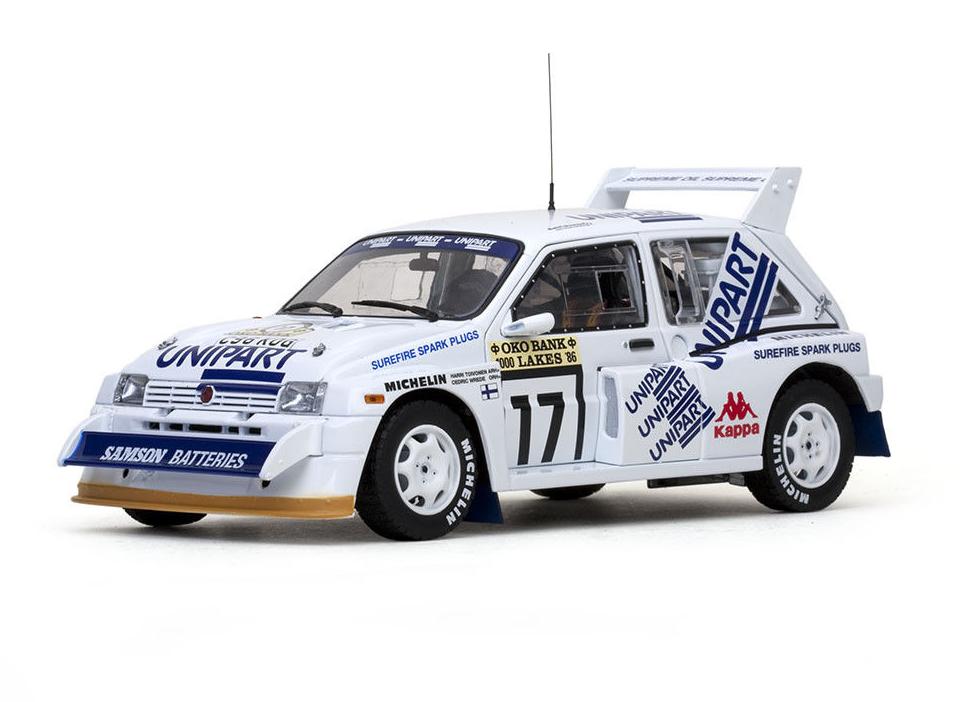 H.Toivonen C.Wrougee 1000 Lakes Rally 1986  17 Sun Star 1 18