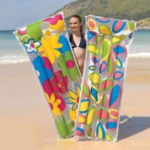 Colourful-Print-Inflatable-Air-Mattress-Swimming-Pool-Raft-Mat-Float-Pool-Swim