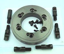 Z011A 4 Jaw Lathe Chuck 50mm Vierbackenfutter for DIY Mini Lathe 8//6 in 1//Z20002