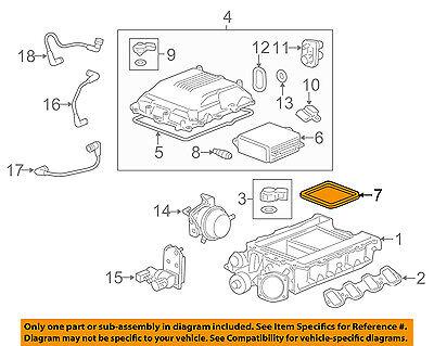 Genuine GM Cooler Insulator 12612467