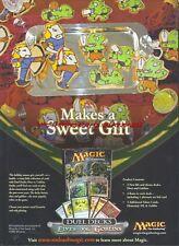 Magic The Gathering Elves Vs Goblins 2007 Magazine Advert #4939