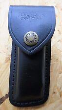 Buck Messeretui Messer Etui Leder Taschenmesser schwarz Neu 280011