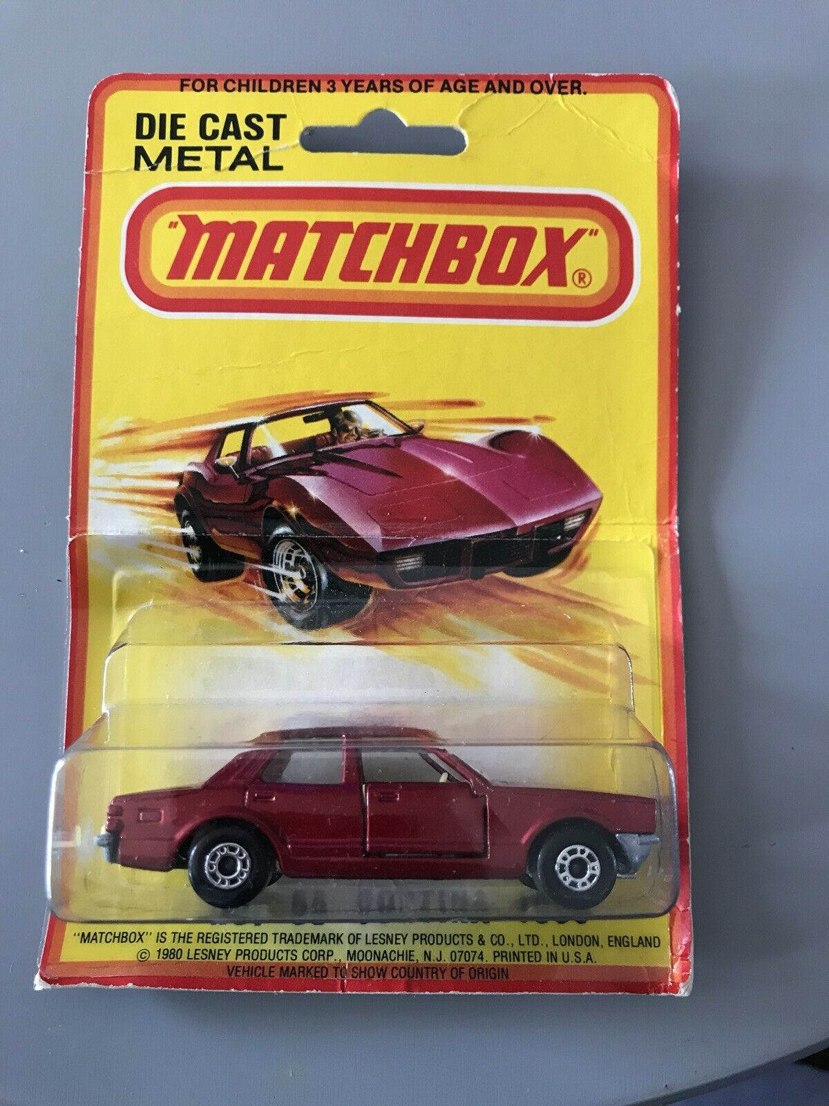RARE Matchbox  Superfast No 55 Cortina 1600 in (environ 4064.00 cm) USA blister Made in England  à bon marché