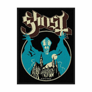 GHOST-Opus-Eponymous-Woven-Sew-On-Patch-Official-Licensed-Band-Merch