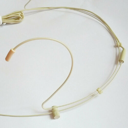 2 tk Verdrahtet Mikrofon Nackenbügel 3.5mm Stecker Wired Mikrofon Headset