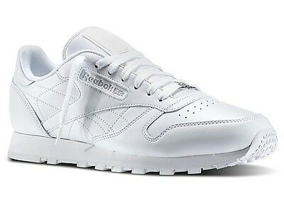 REEBOK CLASSIC LEATHER WHITE WHITE WHITE J90117 CLASSIC RUNNING MEN
