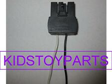 1 Fisher Price 12 Volt Power Wheels Battery Harness Side Connector Plug