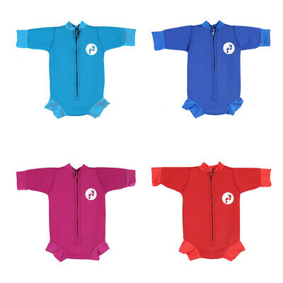 Large,Blue Ultimate Newborn Baby Neoprene Wetsuit Swimsuit 0-12 Months