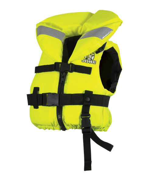 Comfort Boating Vest Youth Yellow Jobe