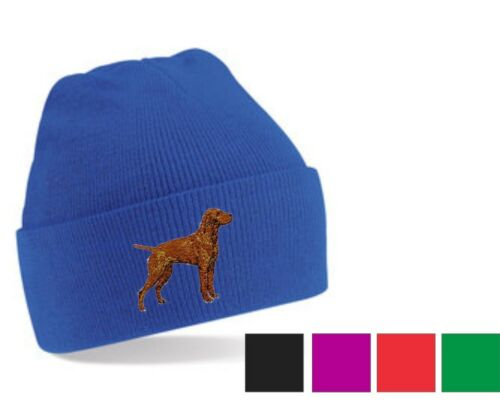 Hungarian Vizsla Beanie Hat Perfect Gift Embroidered by Dogmania