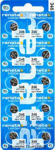 10 pc 346 Renata Watch Batteries SR712SW FREE SHIP 0% MERCURY