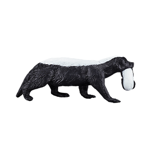 Mojo HONEY BADGER WITH CUB Wild zoo animal play model figure toy plastic forest