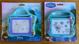 DISNEY-FROZEN-OLAF-Or-ELSA-SNOW-QUEEN-MAGNETIC-SCRIBBLER-SKETCHING-TOY-SKETCHER