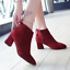 Women-039-s-Autumn-Winter-Short-Boot-High-Heel-Shoes-Warm-Martin-Boots-Plus-Size miniature 3