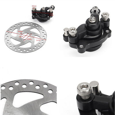 Aluminum Rear Disc Brake Caliper Kit For Electric Scooter Gas Mini Dirt Bike ATV