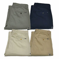Polo Ralph Lauren Mens Chinos Classic Fit Trousers Straight Leg Khakis Pants