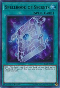 1st Ultra Rare YGOMARKET.COM BLLR-EN050 Spellbook Magician of Prophecy