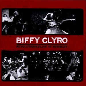 Biffy-Clyro-Revolutions-Live-At-Wembley-CD-DVD-NUOVO
