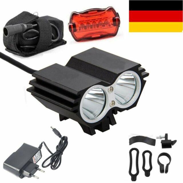 Wiederaufladbar 10000LM XML T6 LED Fahrrad Fahrradlampe Scheinwerfer mit akkus