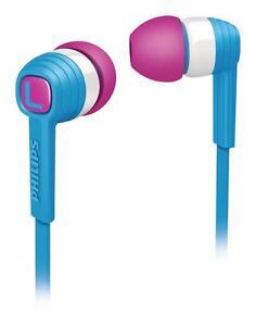 Phillips-SHE7050-Lightweight-Deep-Bass-Sound-In-Ear-Mp3-Kopfhoerer-in-Blau-NEU