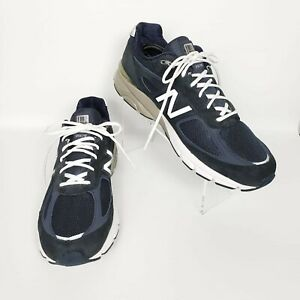 Details about New Balance M990NV4 Men's Navy 990v4 Running Shoes Size 14 Width 2A
