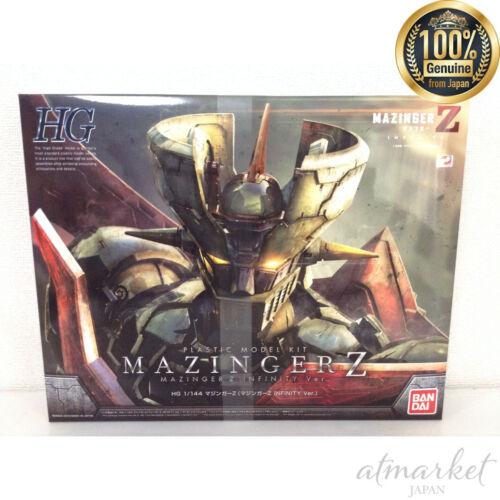 BANDAI HG Mazinger Z INFINITY Ver. 1/144 scale color-coded model plastic JAPAN